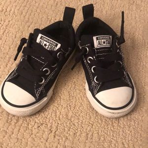 Slip on toddler converse size 6
